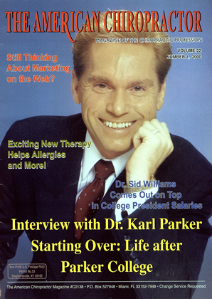 Cover for the January/February 2000 issue