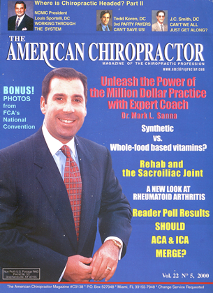 Cover for the September/October 2000 issue