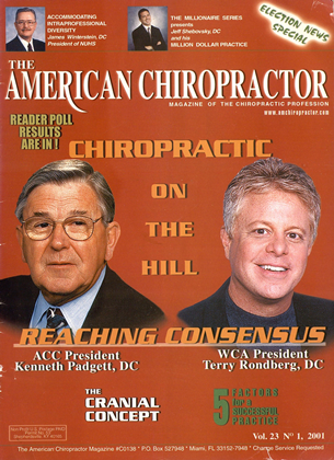 Cover for the January/February 2001 issue
