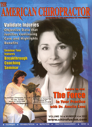 Cover for the July/August 2002 issue