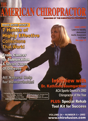 Cover for the September/October 2002 issue