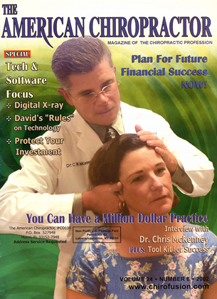 Cover for the November/December 2002 issue