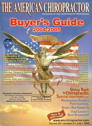 Cover for the Buyer's Guide 2004 issue