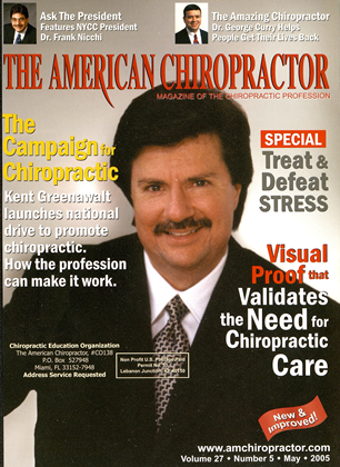 Cover for the May 2005 issue
