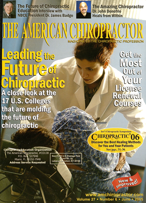 Cover for the June 2005 issue