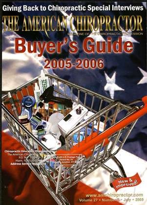 Cover for the Buyers Guide 2005 issue