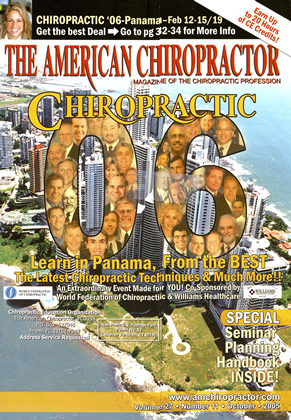 Cover for the October 2005 issue