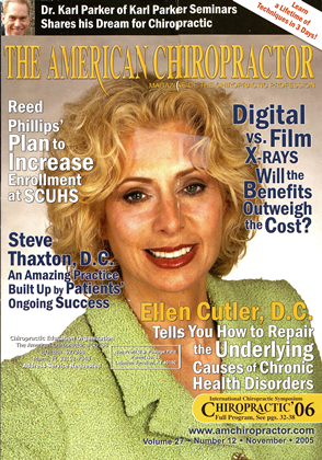 Cover for the November 2005 issue
