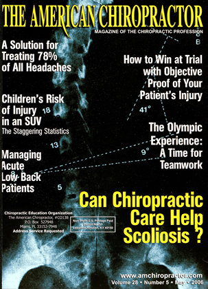 Cover for the May 2006 issue
