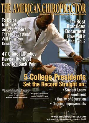 Cover for the June 2006 issue