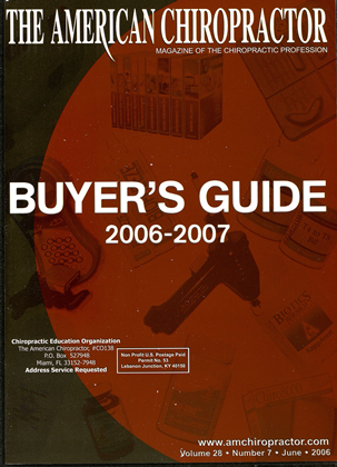 Cover for the Buyers Guide 2006 issue