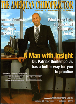 Cover for the October 2006 issue