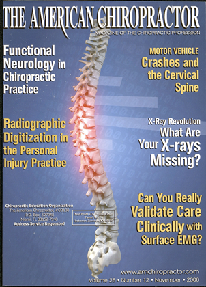 Cover for the November 2006 issue