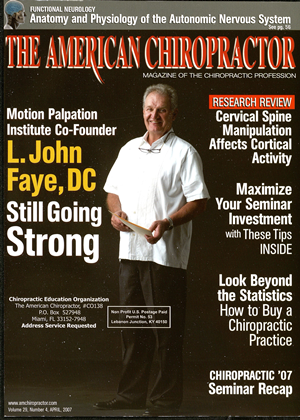 Cover for the April 2007 issue
