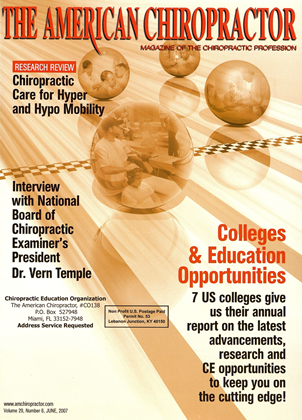Cover for the June 2007 issue