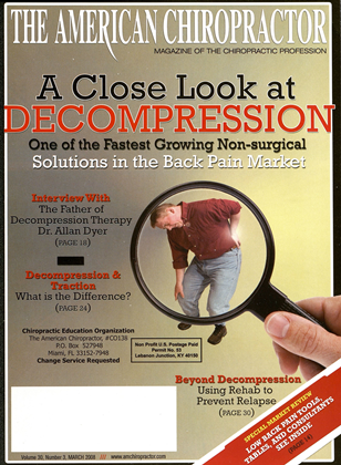 Cover for the March 2008 issue