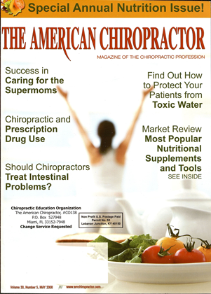 Cover for the May 2008 issue