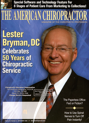 Cover for the September 2008 issue