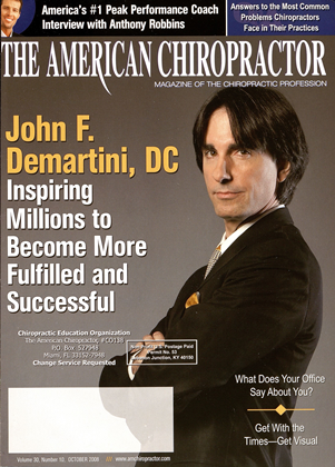 Cover for the October 2008 issue