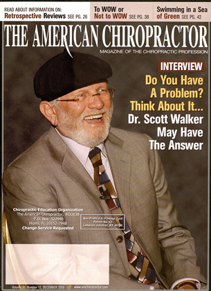 Cover for the December 2008 issue