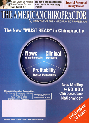 Cover for the January 2009 issue