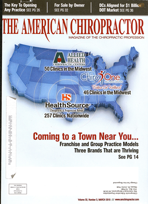Cover for the March 2010 issue