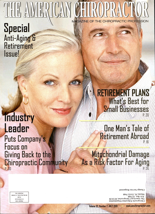 Cover for the July 2010 issue