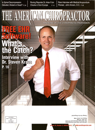 Cover for the August 2010 issue