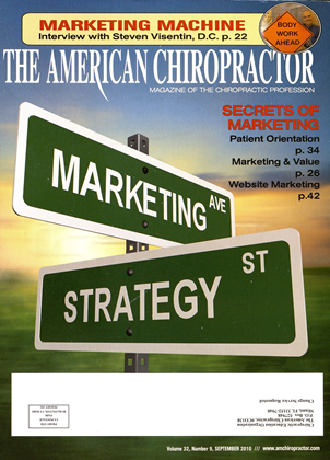 Cover for the September 2010 issue