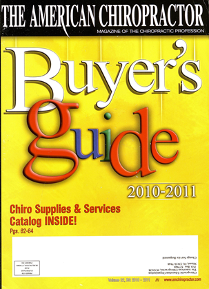 Cover for the Buyers Guide 2010 issue