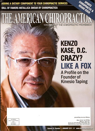 Cover for the January 2011 issue
