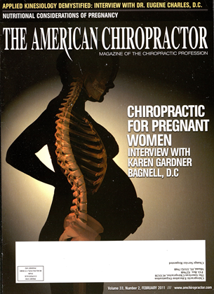Cover for the February 2011 issue