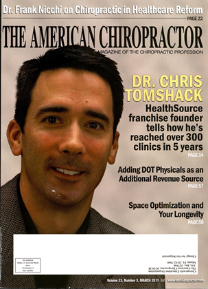 Cover for the March 2011 issue