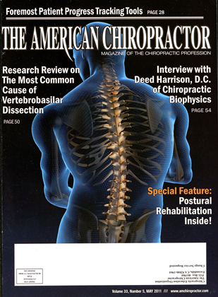 Cover for the May 2011 issue