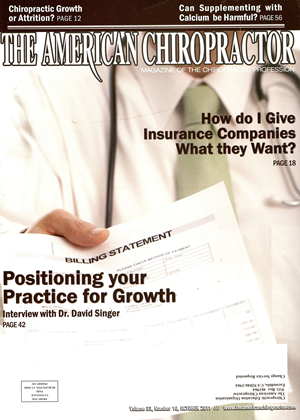 Cover for the October 2011 issue