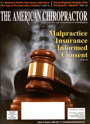 Cover for the April 2012 issue