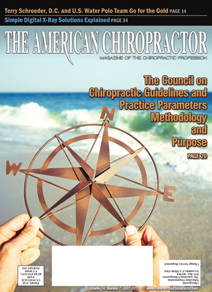 Cover for the July 2012 issue