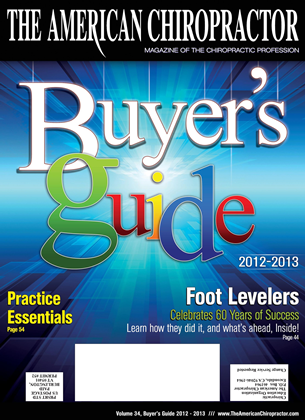 Cover for the Buyers Guide 2012 issue