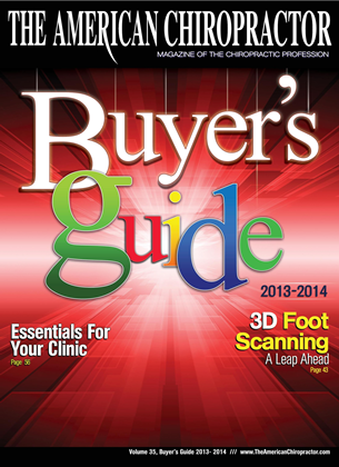 Cover for the Buyers Guide 2013 issue