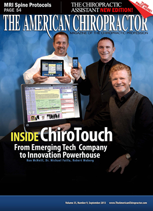 Cover for the September 2013 issue