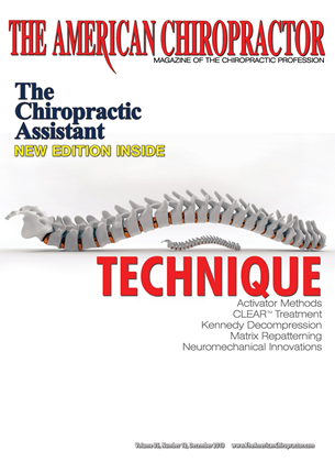 Cover for the December 2013 issue