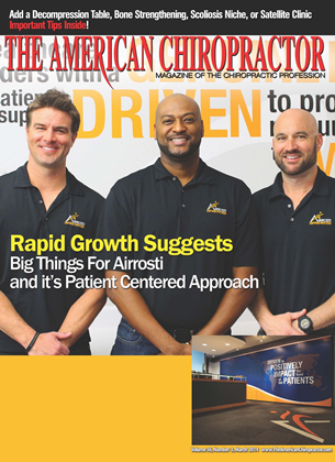 Cover for the March 2014 issue