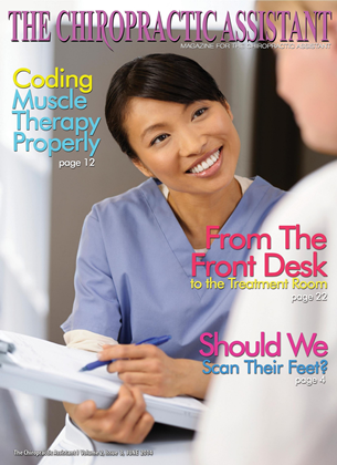 Cover for the The Chiropractic Assistant 2014 issue