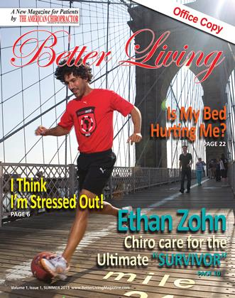 Cover for the Better Living: Summer 2015 issue