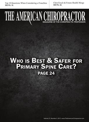 Cover for the March 2015 issue