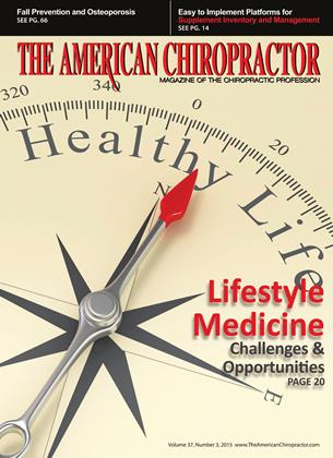 Cover for the April 2015 issue