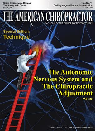 Cover for the December 2015 issue