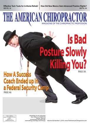Cover for the May 2016 issue