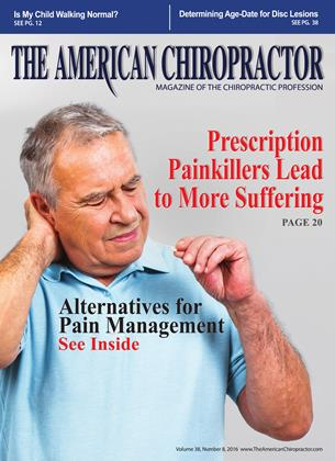 Cover for the August 2016 issue