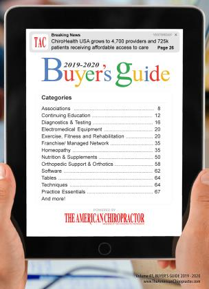 Cover for the Buyer's Guide 2019-2020 2019 issue